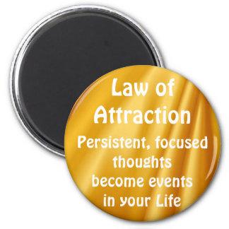 LEY del imán de pensamiento positivo de la ATRACCI