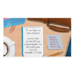 Ley/tarjeta de visita del trabajo de oficina