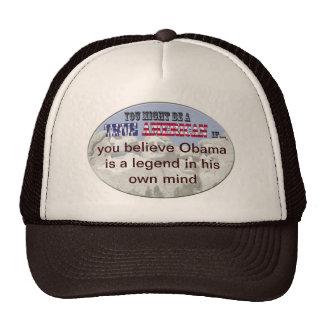 leyenda de obama en propia mente gorro de camionero