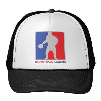 leyenda del baloncesto gorro de camionero