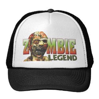 Leyenda del zombi gorros bordados