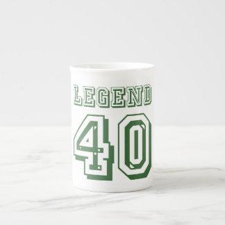 Leyenda en 40 taza de té