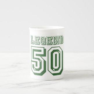 Leyenda en 50 taza de té