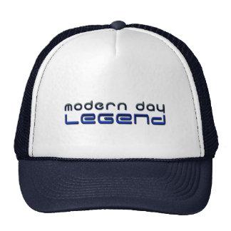 Leyenda moderna del día gorras