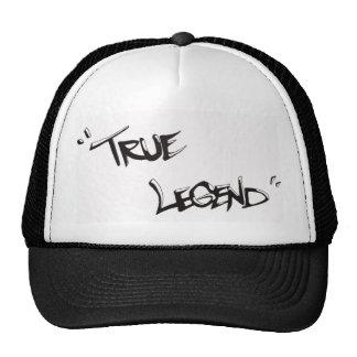 leyenda verdadera gorra