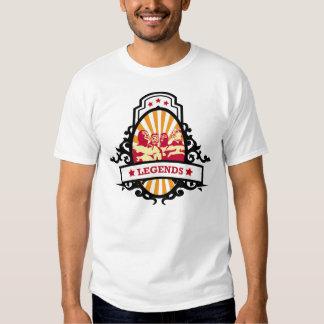Leyendas de lucha mexicanas camiseta