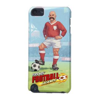 Leyendas del fútbol del retroceso de la película - funda para iPod touch 5