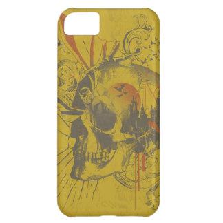 Leyendas urbanas de Batman - cráneo amarillo Funda Para iPhone 5C
