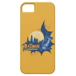 Leyendas urbanas de Batman - paisaje urbano oscuro iPhone 5 Funda