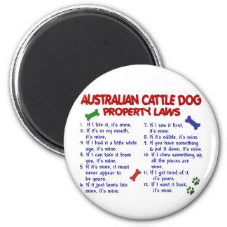 Leyes AUSTRALIANAS 2 de la propiedad del PERRO del Iman De Frigorífico
