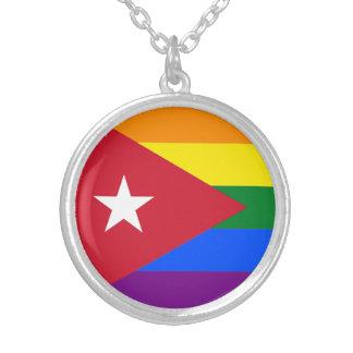 LGBT Cuba Collar Plateado