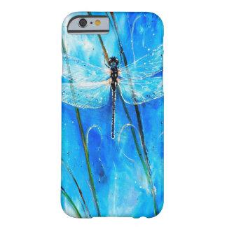 Libélula azul funda barely there iPhone 6