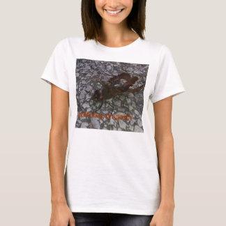libélula del saddlebag camiseta