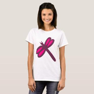libélula púrpura camiseta