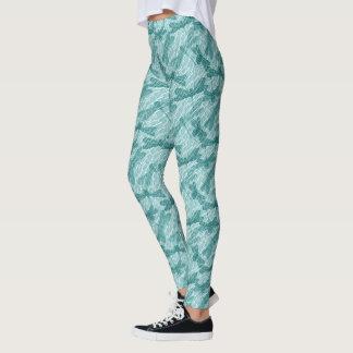 Libélulas azules leggings