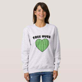 Libere el corazón del cactus de los abrazos el | sudadera