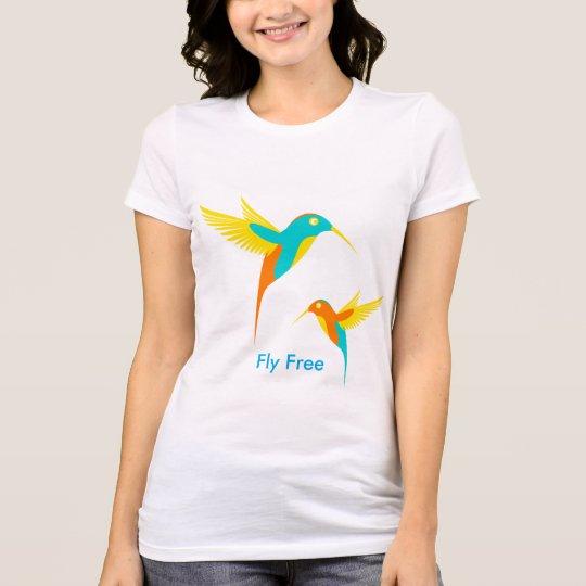 Libere la camiseta de la mosca