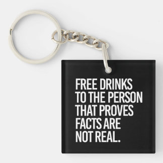 Libere las bebidas a la persona que prueba que los llavero