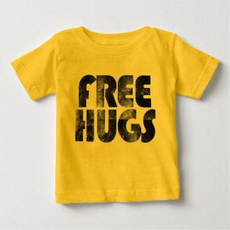 Libere los abrazos camiseta de bebé