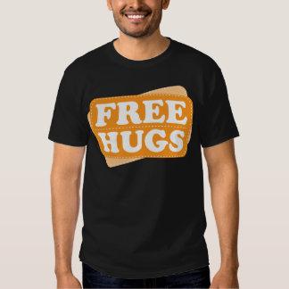 Libere los abrazos - naranja camiseta
