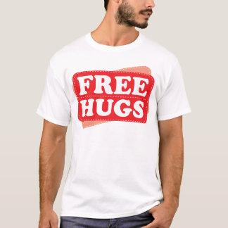 Libere los abrazos - rojo camiseta