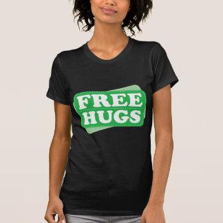 Libere los abrazos - verde camisetas