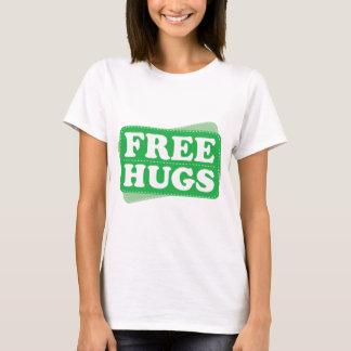 Libere los abrazos - verde camiseta