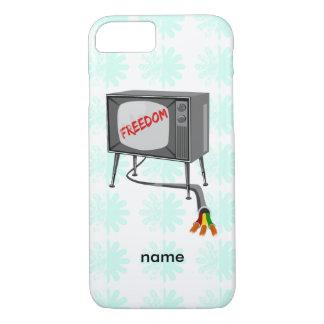 Libertad de la televisión funda iPhone 7