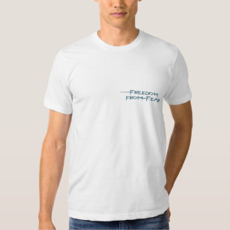 LIBERTAD de las camisetas del Anti-Terrorismo del