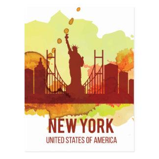 Libertad de Wellcoda New York City NYC los Postal