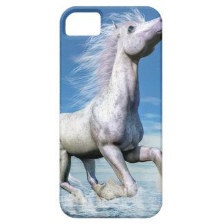 Libertad del caballo blanco - 3D rinden Funda Para iPhone SE/5/5s