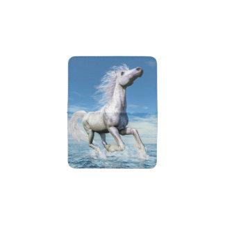 Libertad del caballo blanco - 3D rinden Tarjetero