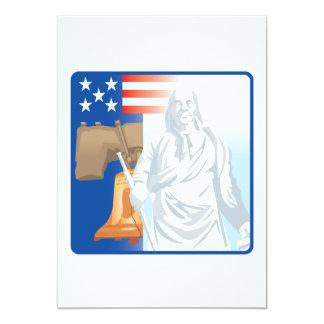 Libertad Invitación 12,7 X 17,8 Cm