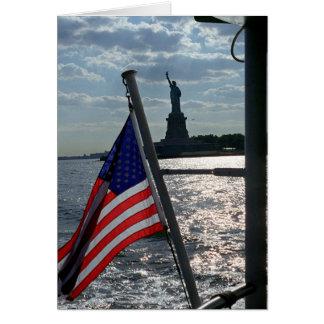 Libertad, libertad (espacio en blanco dentro) tarjeta