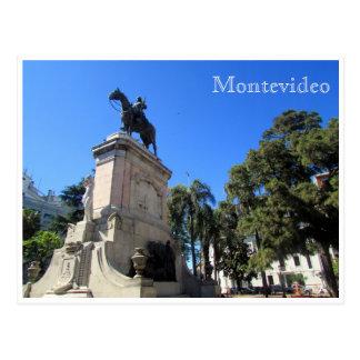 libertad Montevideo de la plaza Postal