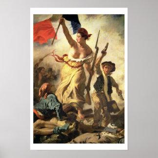 Libertad que lleva a la gente, el 28 de julio de 1 póster