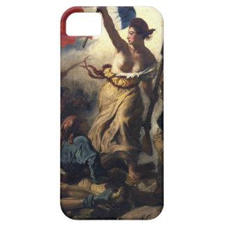Libertad que lleva a la gente iPhone 5 Case-Mate carcasas