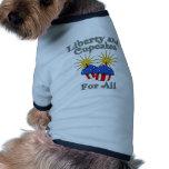 Libertad y magdalenas para todos los productos ropa perro