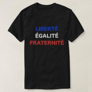 Liberté, Égalité, camiseta del lema de Fraternité