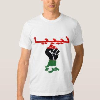 Libia libre camisas