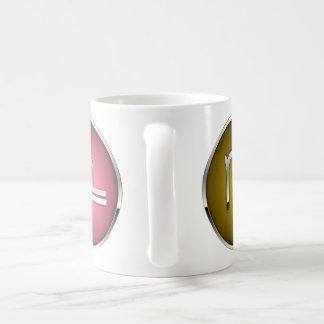 Libra del virgo de la taza de la muestra de Sun
