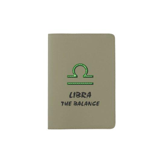 Libra el equilibrio portapasaportes