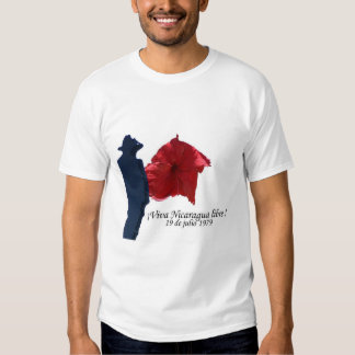 ¡Libre de Viva Nicaragua! Camisetas
