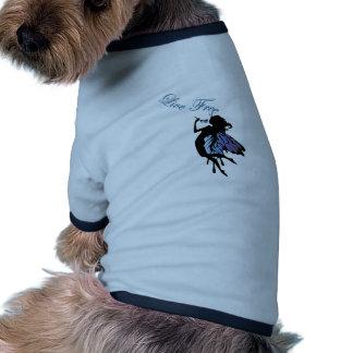 Libre vivo camisetas de perrito