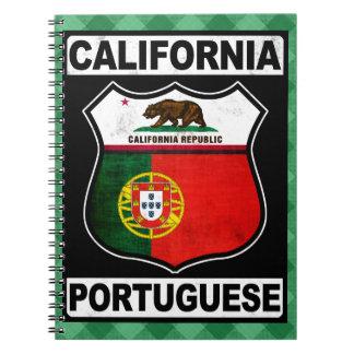 Libreta americana portuguesa de California