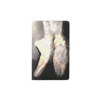 Libreta de los zapatos de ballet del En Pointe