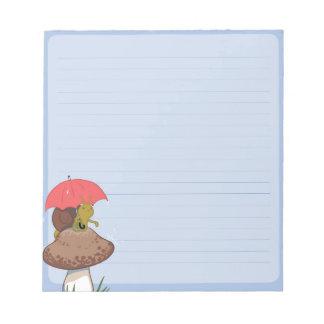 Libreta del caracol del día lluvioso