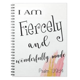 Libreta ferozmente y maravillosamente hecha