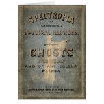 """Libro 1866 de fantasmas - """"Spectropia """" Tarjetas"""