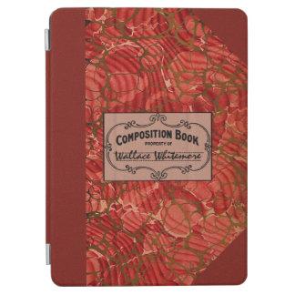 Libro clásico de la composición del viejo cubierta de iPad air